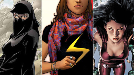 New Ms. Marvel isn't the first Muslim -- or religious -- superhero | Emergence of Islamic Consumer Power | Scoop.it