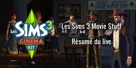 [Résumé du live] Les Sims 3 - Movie Stuff - Direct Sims | Direct Sims | Scoop.it