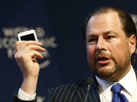 Salesforce CEO Marc Benioff says there's a major shift happening in business software | Holistic Marketing - Why Everything Matters | Scoop.it