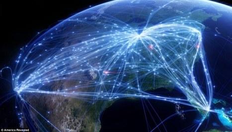 Imatges increïbles creades a partir de dades GPS - The art of GPS | TIG | Scoop.it