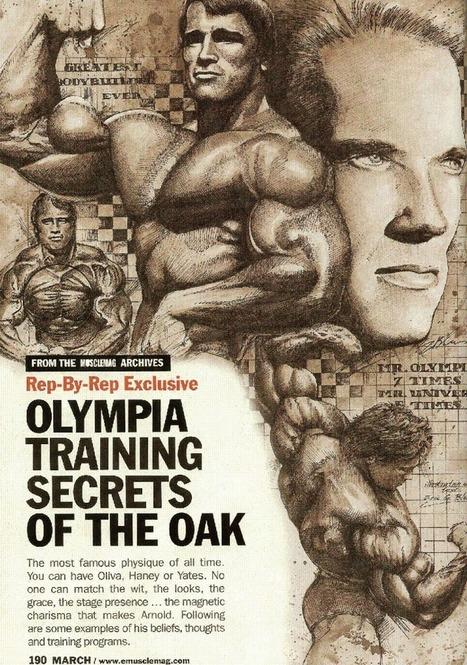 PART 1: Training Secrets Of The Oak   Fitness fashion business   Scoop.it