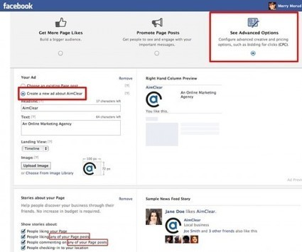 Facebook enables advertisers to create new page posts from ad tool | MarketingHits | Scoop.it