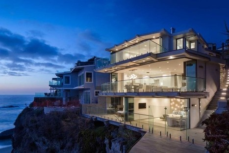 This clifftop home in California features uninterrupted views of the ocean | Inspired By Design | Scoop.it