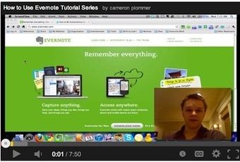 Get The Maximum out of Evernote with These Awesome Tutorials ~ Educational Technology and Mobile Learning | Social Media | Scoop.it