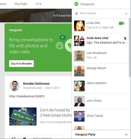 Ultimate Guide to NEW Google Hangouts - Martin Shervington | Latest Social Media News | Scoop.it