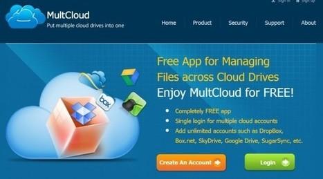 MultCloud, una aplicación para gestionar DropBox, Box, SkyDrive, Google Drive, SugarSync y Amazon | Innovación,Tecnología y Redes sociales | Scoop.it