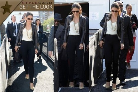 Get The Look: Katie Holmes | StyleCard Fashion Portal | StyleCard Fashion | Scoop.it