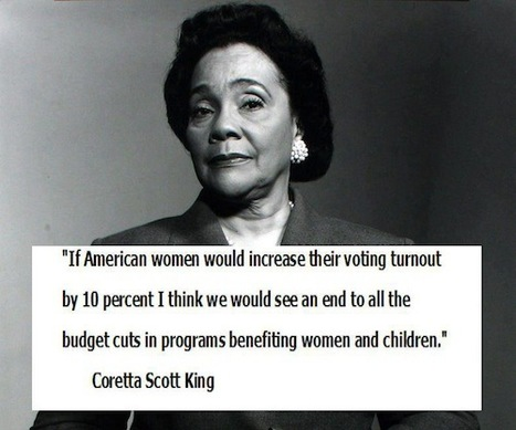 Increase the vote and change the world. | Coffee Party Feminists | Scoop.it