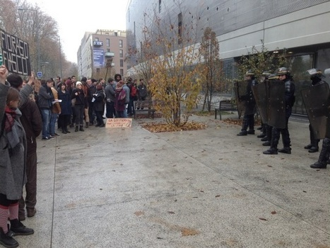 Lyon : les étudiants en colère réservent un comité d'accueil à Geneviève Fioraso   Enseignement Supérieur et Recherche en France   Scoop.it