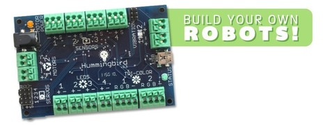 Hummingbird Robotics Kit | Get your kids to code | Scoop.it