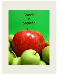 Grande y pequeño - purchase and read the ebook online now from ePub Bud!   Preschool Spanish   Scoop.it