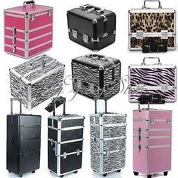Pro Aluminum Beauty Makeup Box Case Salon Cosmetic Lockable Organizer Vanity US | KC Makeup by Karuna Chani | Scoop.it