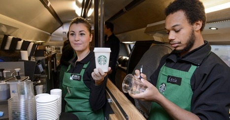 Starbucks 'Tweet-a-Coffee' Campaign Prompted $180,000 in Purchases | Internet Language | Scoop.it
