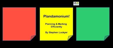 Plandamonium! by @mrlockyer | ICTmagic | Scoop.it