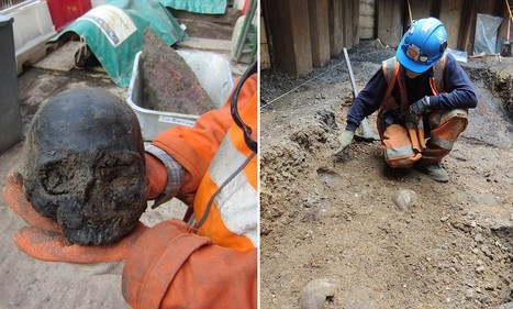 Roman skulls discovered beneath a London railway station | British Genealogy | Scoop.it