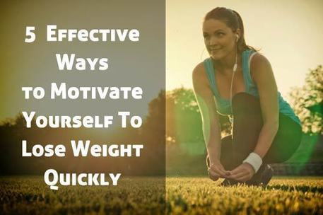 5 Effective Ways to Motivate Yourself To Lose Weight Quickly | justin kavanagh Fitness | Scoop.it
