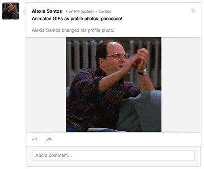 Google+ te permite ahora utilizar un GIF animado como foto de perfil | Quieres hacer deporte ? | Scoop.it