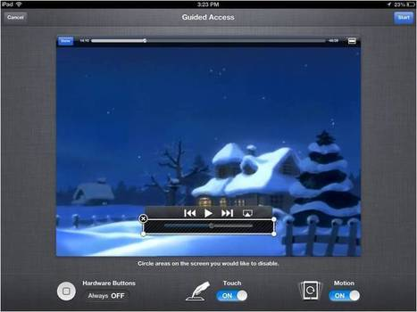 How to: Guided Access in the Classroom | iPad implementation in schools | Scoop.it