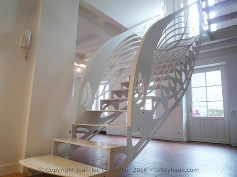 Escalier design et ailes de papillon | Escalier Design Mobilier Contemporain de style Art Nouveau | Scoop.it