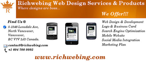 Richwebing Web Design services and Products | Web design services | Scoop.it