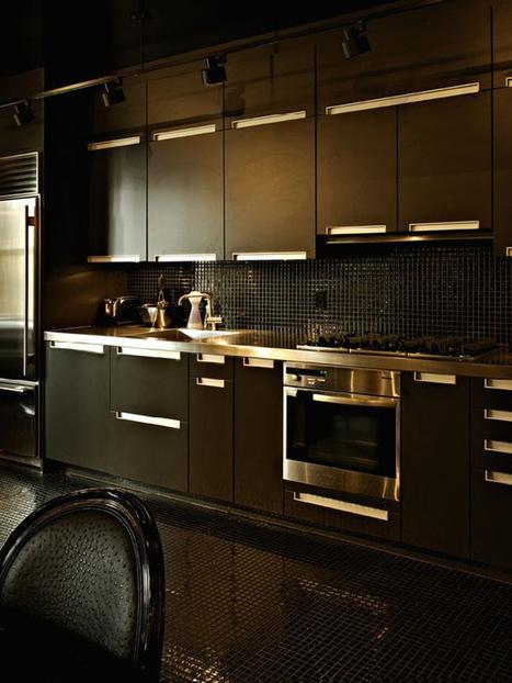 20 Stylish Kitchens That Rock The Black Look! | DesignRulz | Designing Interiors | Scoop.it