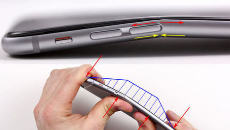 One Clever Explanation of Why the iPhone 6 Plus might Bend | Mobile Business News | Scoop.it