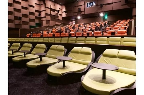 What it's like to see a film at NYC's new luxury movie theater | Television, cinema | Scoop.it
