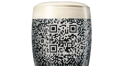 Guinness QR Cup  - The Dieline - The #1 Package Design Website - | QR-Code and its applications | Scoop.it