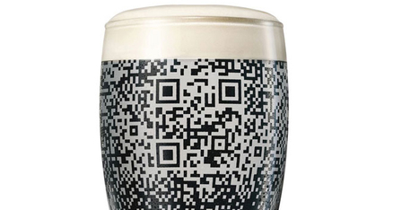 Guinness QR Cup  - The Dieline - The #1 Package Design Website - | Ideas & Communication | Scoop.it