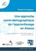 Une approche socio-démographique de l'apprentissage en Alsace | Alternance emploi-formation | Scoop.it