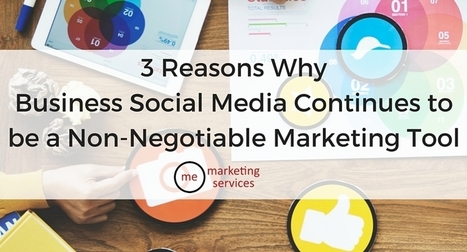 3 Reasons Why Business Social Media Continues to Be a Non-Negotiable Marketing Tool | B2B Sales and Business Tips | Scoop.it