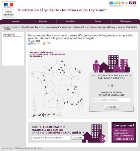 Encadrement des loyers: Le site du Ministère | Veille informationnelle immobilier | Scoop.it