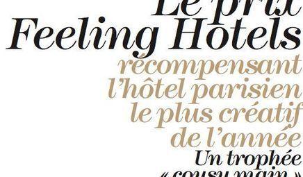 EVENEMENT - Feeling Hotels, les hôtels les plus créatifs de Paris | Intégrateur Multimédia, secteur Hôtelier | Scoop.it