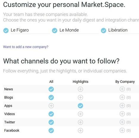 MarketSpace, un service innovant de surveillance des marques et organisations [avec sortie RSS] | RSS Circus : veille stratégique, intelligence économique, curation, publication, Web 2.0 | Scoop.it