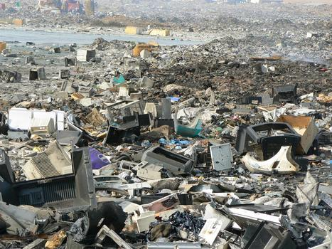 The Geography of E-Waste | Geography for All! | Scoop.it