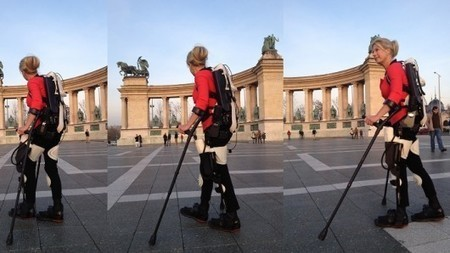 Paralyzed woman walks again with 3D-printed robotic exoskeleton | Longevity science | Scoop.it