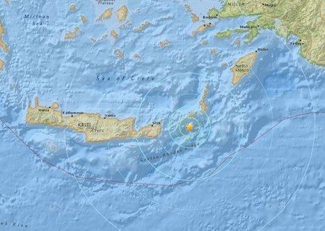 Tremblement de terre de 6,1 à côté de la Crète | Chronique d'un pays où il ne se passe rien... ou presque ! | Scoop.it