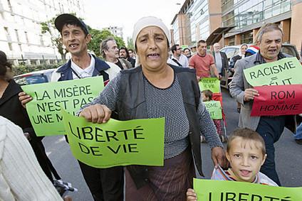 Retour sur la manifestation de mercredi contre les expulsions des ... | L'intégration des Roms. | Scoop.it