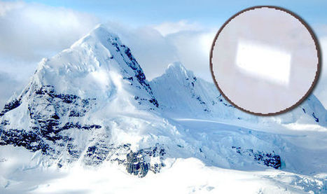 What on Earth is this? Mysterious 14 mile structure 'buried' in Antarctica found on Google | Antarctica | Scoop.it