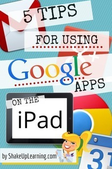 5 Tips for Using Google Apps on the iPad | Web Resources for Subjects | Scoop.it