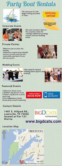 Convenient Place to Celebrate An Events | Catamaran Services | Scoop.it