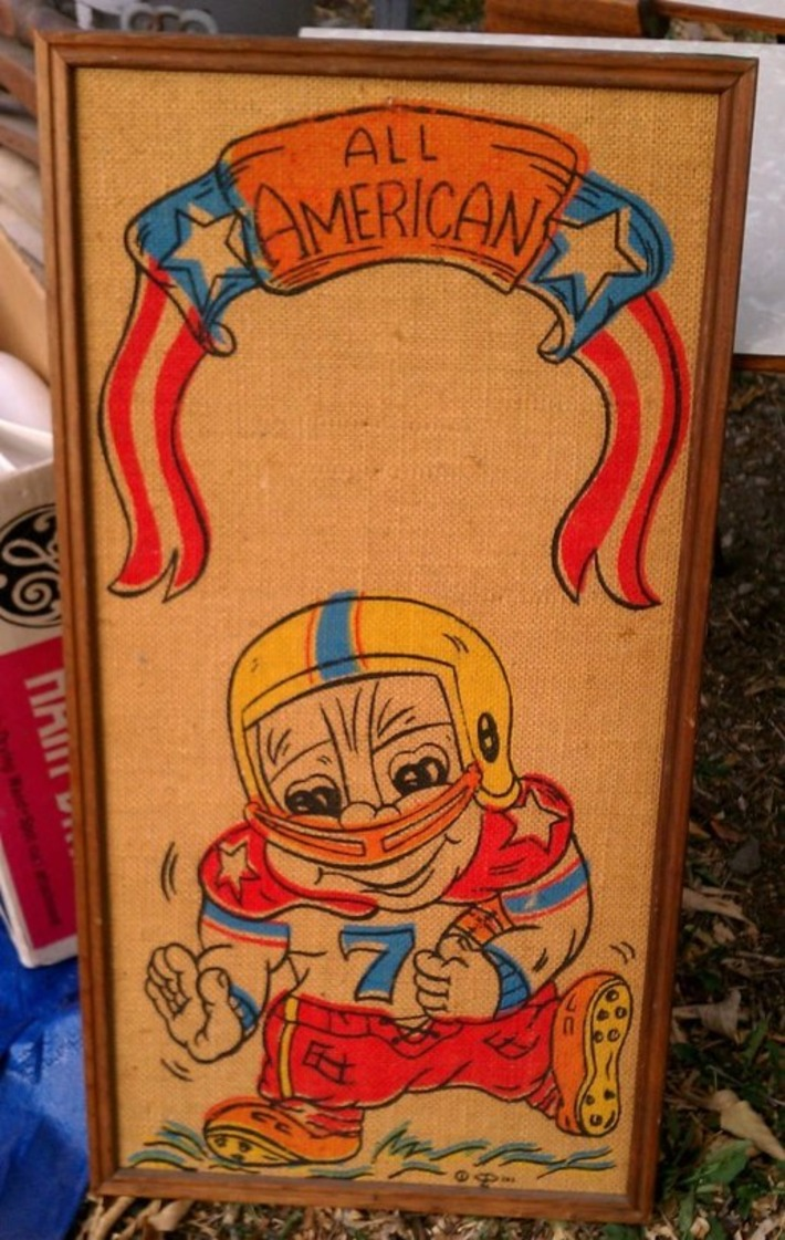 Retro All American Little Boy Football Player | Kitsch | Scoop.it