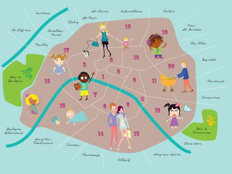 Le Paris des lardons, 1er site de partage d'adresses dédié aux enfants   Famille   Scoop.it