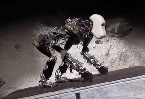 Les allemands développent un robot chien : Ape | Resolunet | Scoop.it