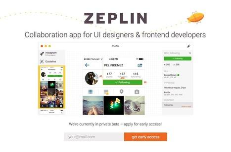 Zeplin | UX Chemistry | Scoop.it