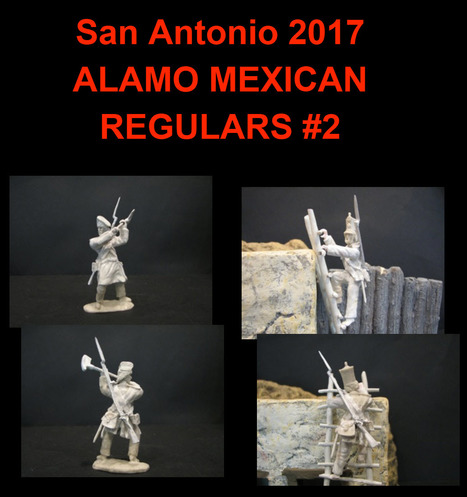 PARAGON ALAMO MEXICAN TOY SOLDIERS | Military Miniatures H.Q. | Scoop.it