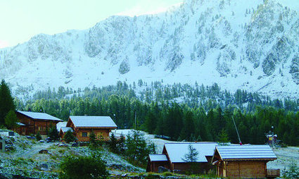 Premières chutes de neige sur le Mercantour | Actualité des vacances | Scoop.it