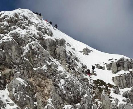 Terminillo (RI) - alpinisti bloccati su canale ghiacciato salvati dal Soccorso Alpino - Corriere di Rieti | I tesori del Lazio - Treasures of Latium - Magazine | Scoop.it