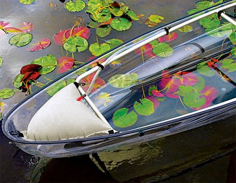 Transparent Canoe Offers Incredible Views of the Ocean Below | Inspiration: Imagine. See the possibilities. | Scoop.it