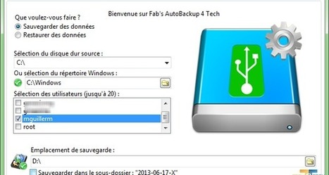 Mise à jour de Fab's AutoBackup 3 et 4 | Tech2Tech | JOIN SCOOP.IT AND FOLLOW ME ON SCOOP.IT | Scoop.it